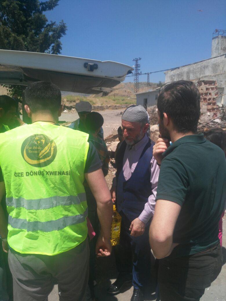Öze Dönüş'ten Şırnak ve Cizre'de 320 Aileye Yardım 1