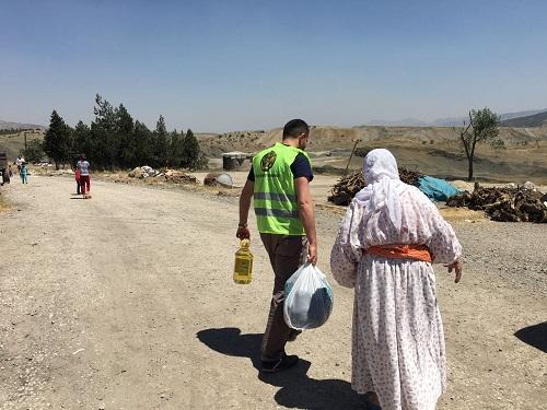 Öze Dönüş'ten Şırnak ve Cizre'de 320 Aileye Yardım 10