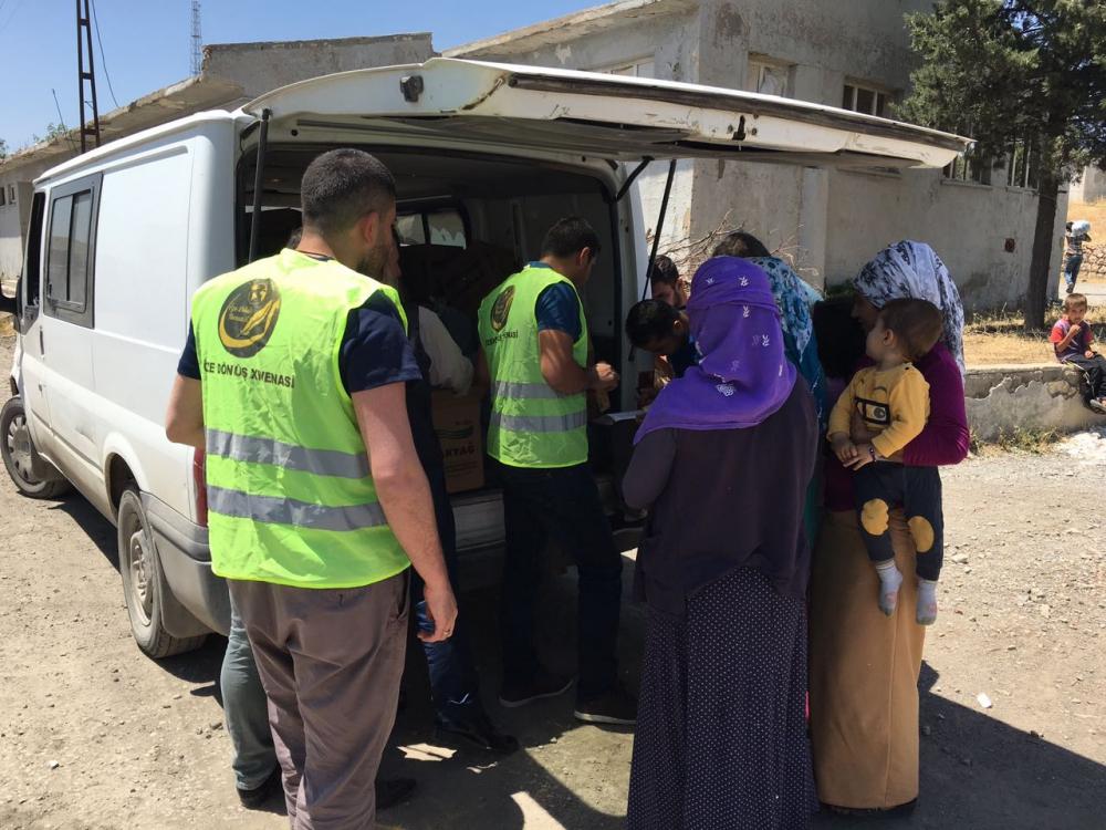 Öze Dönüş'ten Şırnak ve Cizre'de 320 Aileye Yardım 5