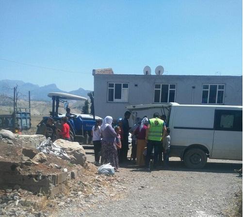 Öze Dönüş'ten Şırnak ve Cizre'de 320 Aileye Yardım 9