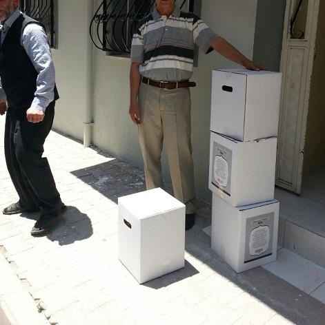 Öze Dönüş İzmir'de yardıma muhtaç ailelere gıda yardımında bulundu. 7