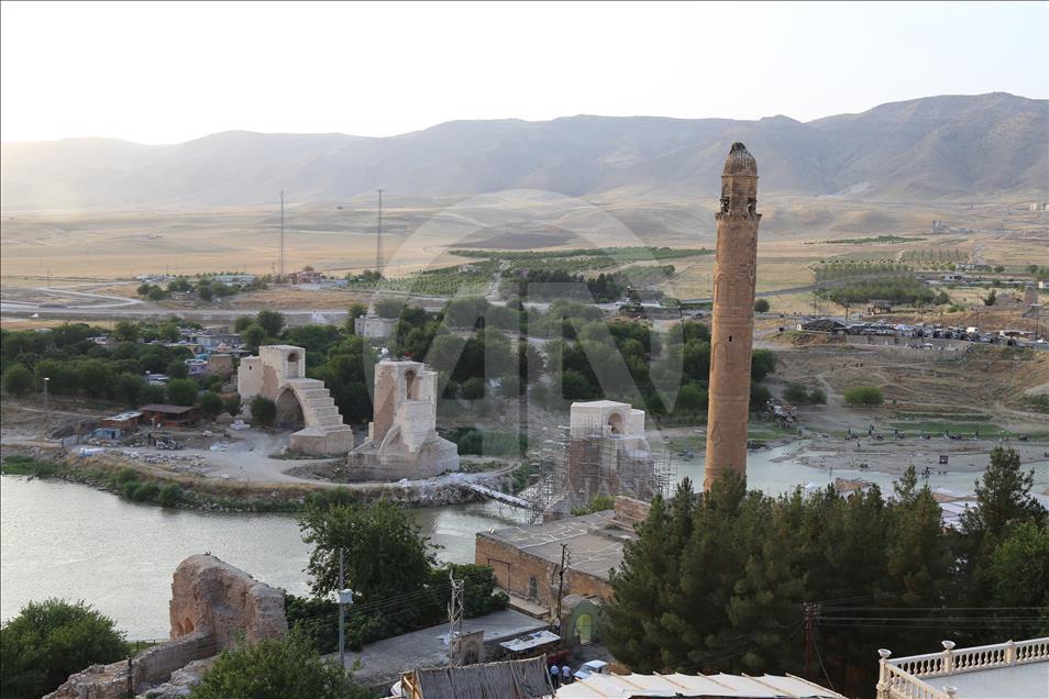 Hasankeyf'teki kültürel miras bir bir taşınıyor 5