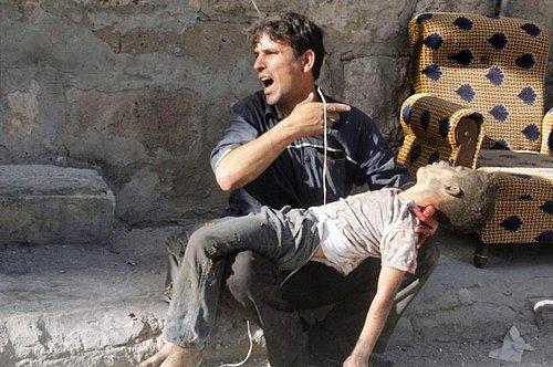 Suriye savaşında çocuklar 13