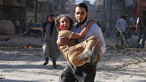 Suriye savaşında çocuklar 14