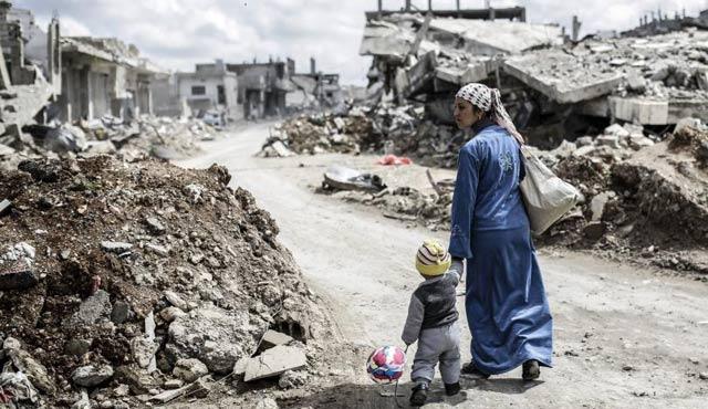 Suriye savaşında çocuklar 15