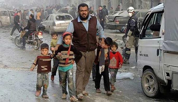 Suriye savaşında çocuklar 16