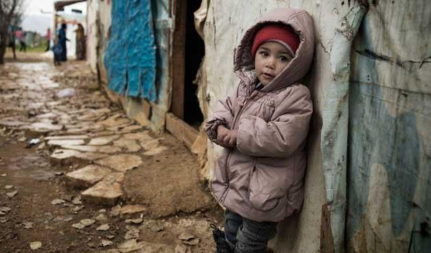 Suriye savaşında çocuklar 18