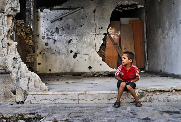 Suriye savaşında çocuklar 19
