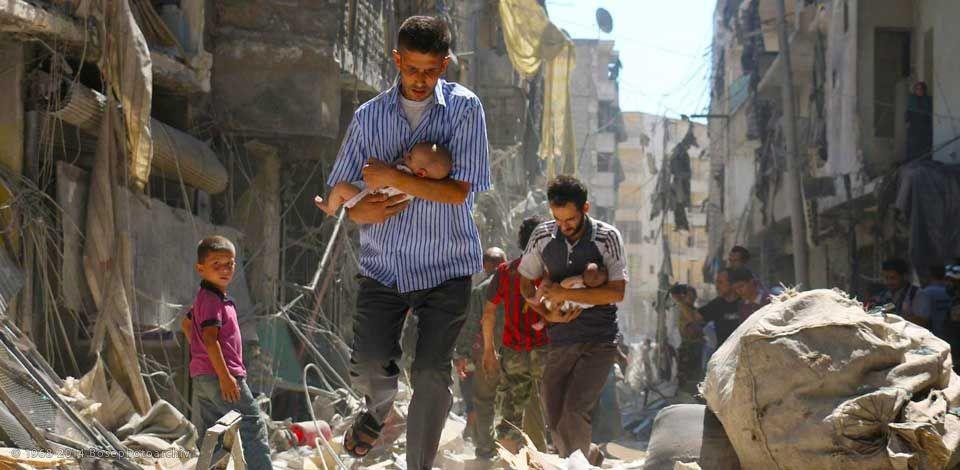 Suriye savaşında çocuklar 2