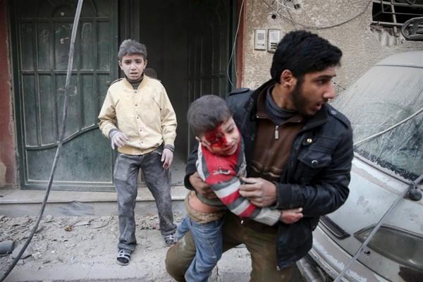 Suriye savaşında çocuklar 20