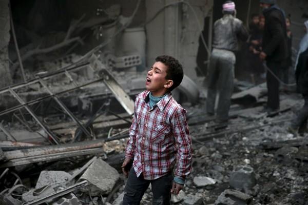 Suriye savaşında çocuklar 21