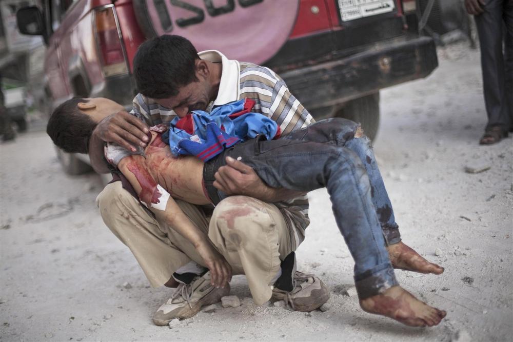 Suriye savaşında çocuklar 22