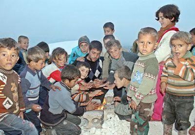 Suriye savaşında çocuklar 23
