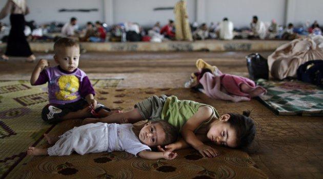 Suriye savaşında çocuklar 24