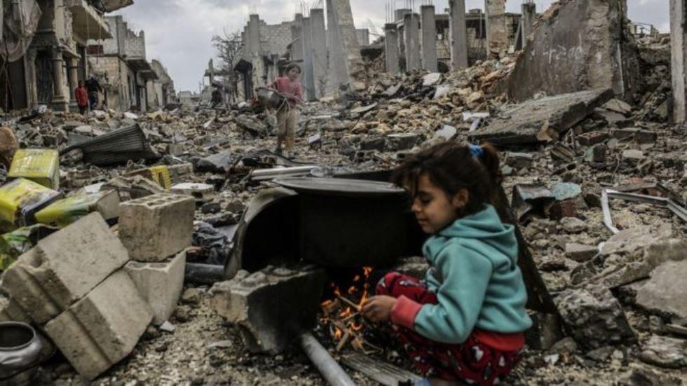 Suriye savaşında çocuklar 26
