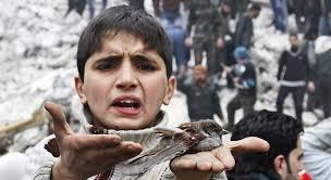Suriye savaşında çocuklar 28