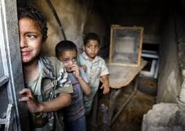 Suriye savaşında çocuklar 33
