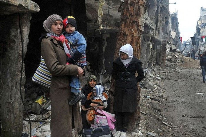 Suriye savaşında çocuklar 5