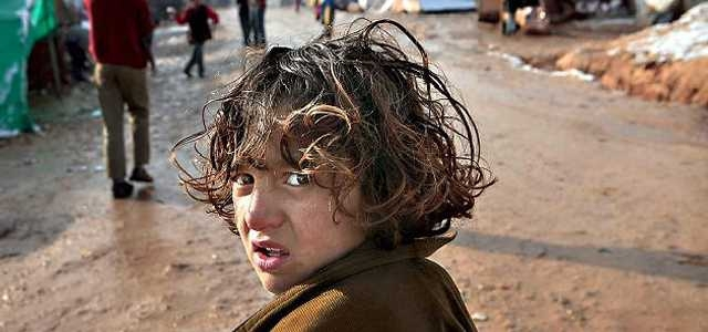 Suriye savaşında çocuklar 6