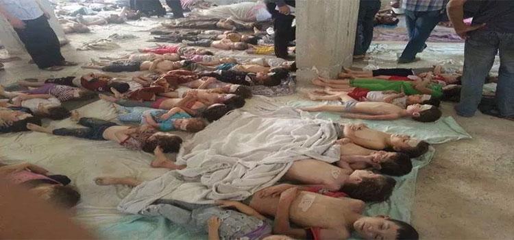 Suriye savaşında çocuklar 8