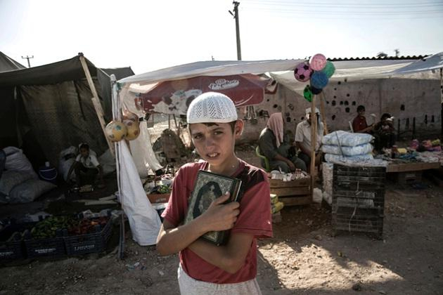 Suriye savaşında çocuklar 9