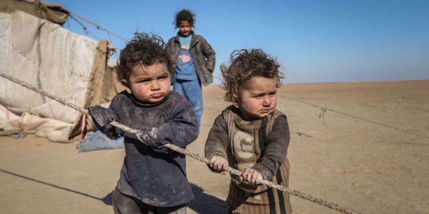Suriye savaşında çocuklar