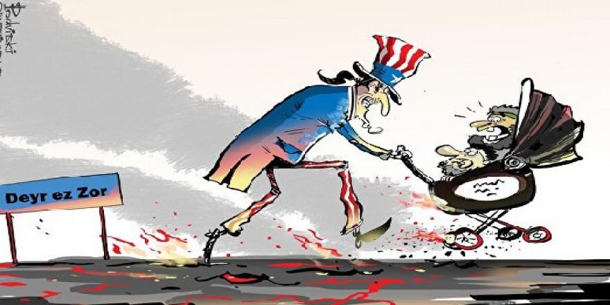 İŞİD Kumutanlarını ABD Kurtarıyor