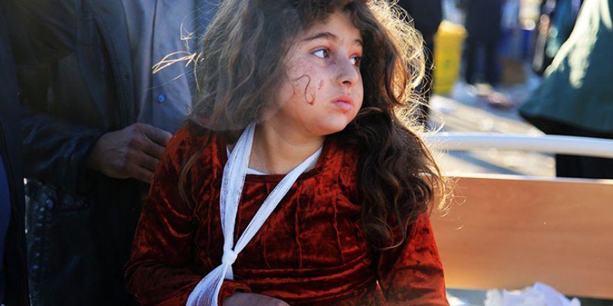 Kürdistan'da oluşan deprem felaketi-foto