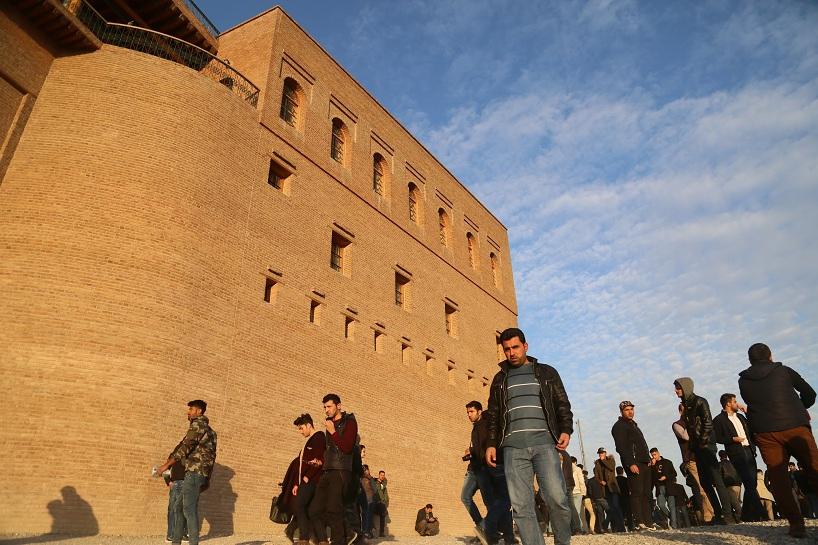 Kürdistan'ın Erbil Kalesi'nden  görüntüler 11