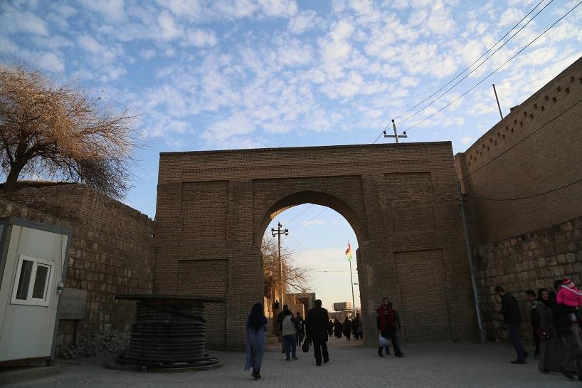 Kürdistan'ın Erbil Kalesi'nden  görüntüler 3
