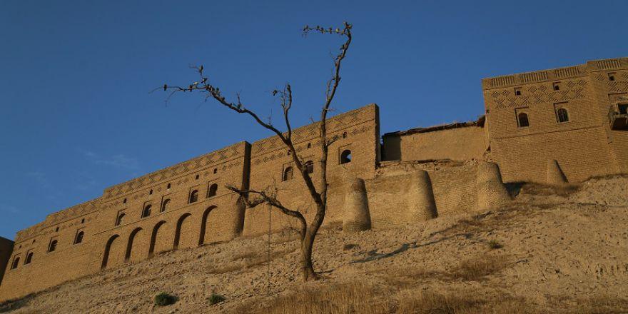 Kürdistan'ın Erbil Kalesi'nden  görüntüler