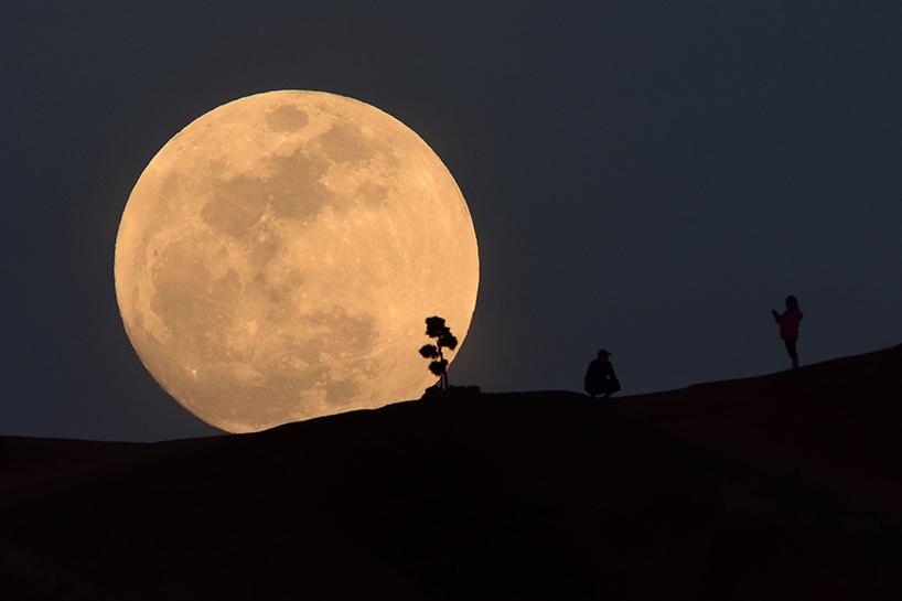 Süper Kanlı Mavi Ay'dan muhteşem görüntüler 2