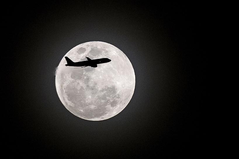 Süper Kanlı Mavi Ay'dan muhteşem görüntüler 3