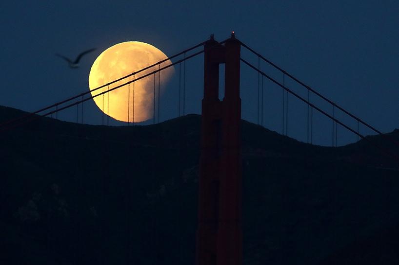 Süper Kanlı Mavi Ay'dan muhteşem görüntüler 7