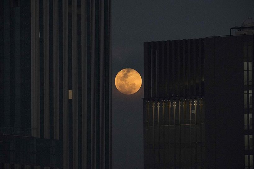 Süper Kanlı Mavi Ay'dan muhteşem görüntüler 9