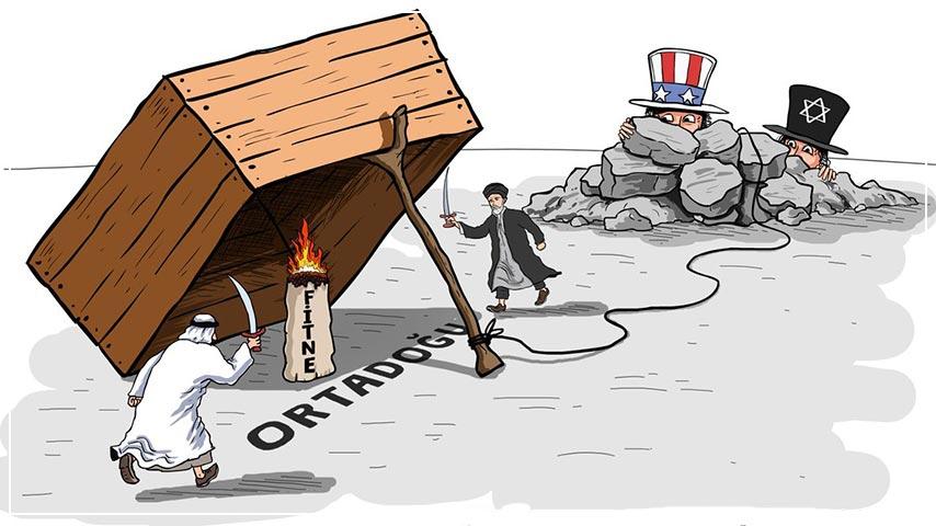 Büyük Şeytan ABD ve İsrail, Her Fitnenin Kaynağı 1