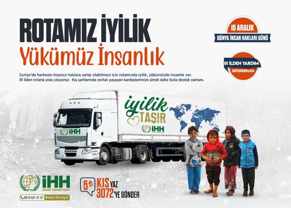İHH'dan Mazlumlara Yardım Kampanyası 1
