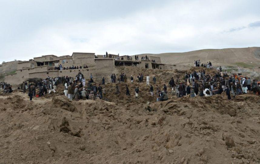 Afganistan'da heyelan faciası 10