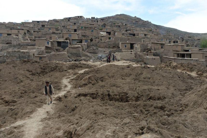 Afganistan'da heyelan faciası 11
