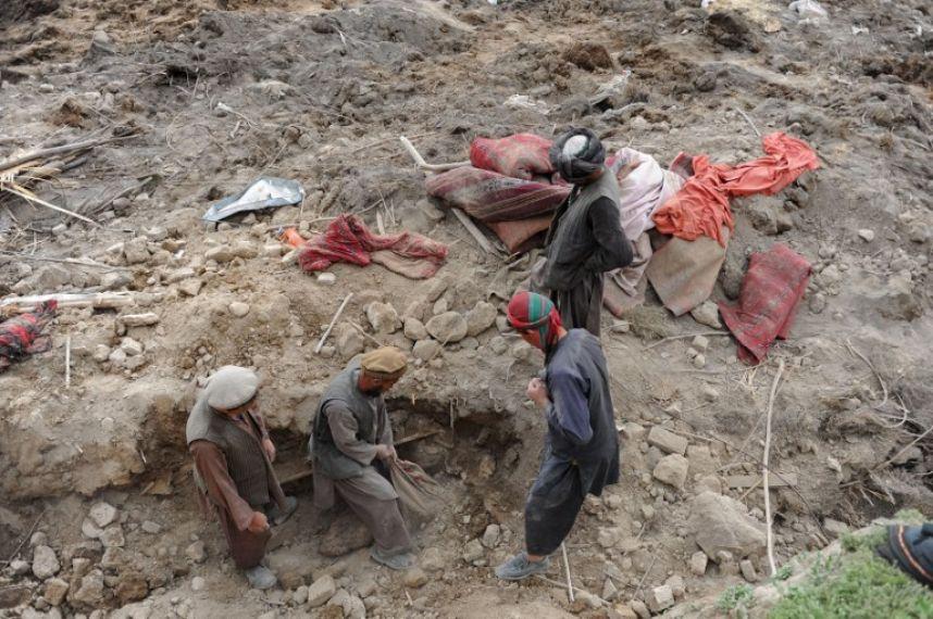 Afganistan'da heyelan faciası 12
