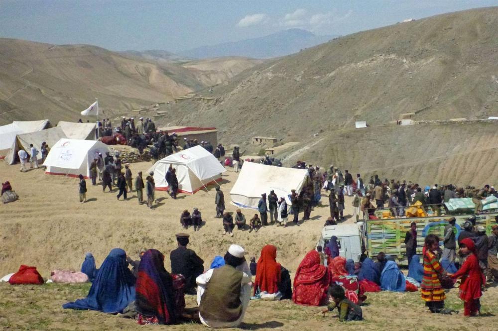 Afganistan'da heyelan faciası 13