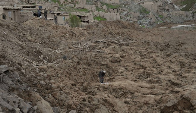 Afganistan'da heyelan faciası 14