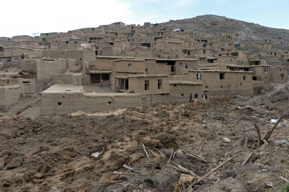 Afganistan'da heyelan faciası 17