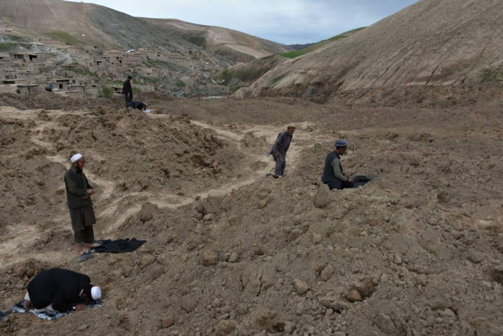 Afganistan'da heyelan faciası 19