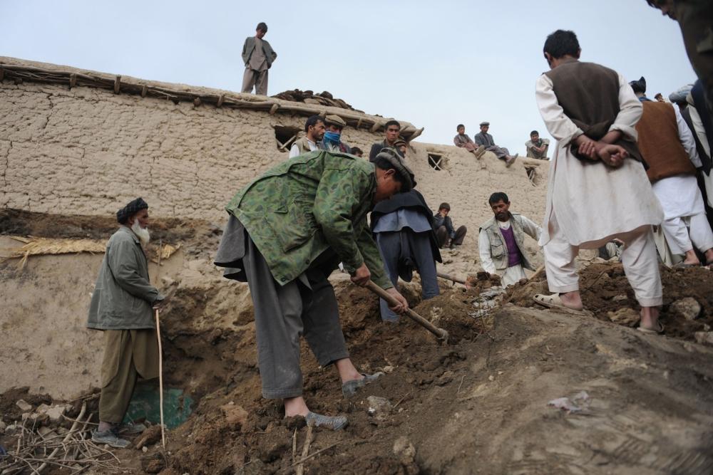 Afganistan'da heyelan faciası 2