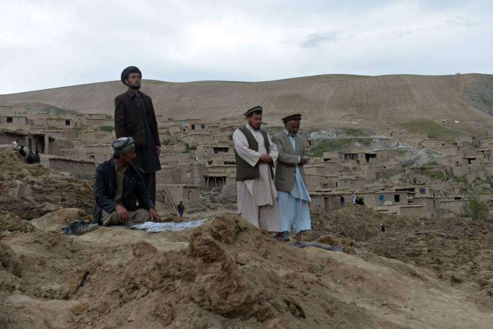 Afganistan'da heyelan faciası 20