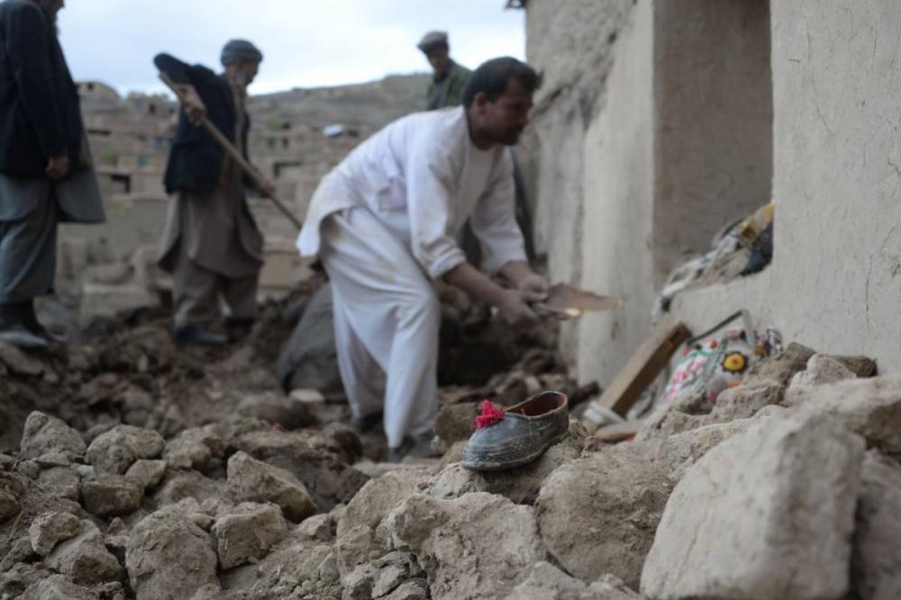 Afganistan'da heyelan faciası 21