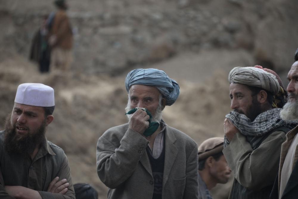 Afganistan'da heyelan faciası 3