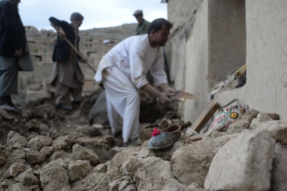Afganistan'da heyelan faciası 4