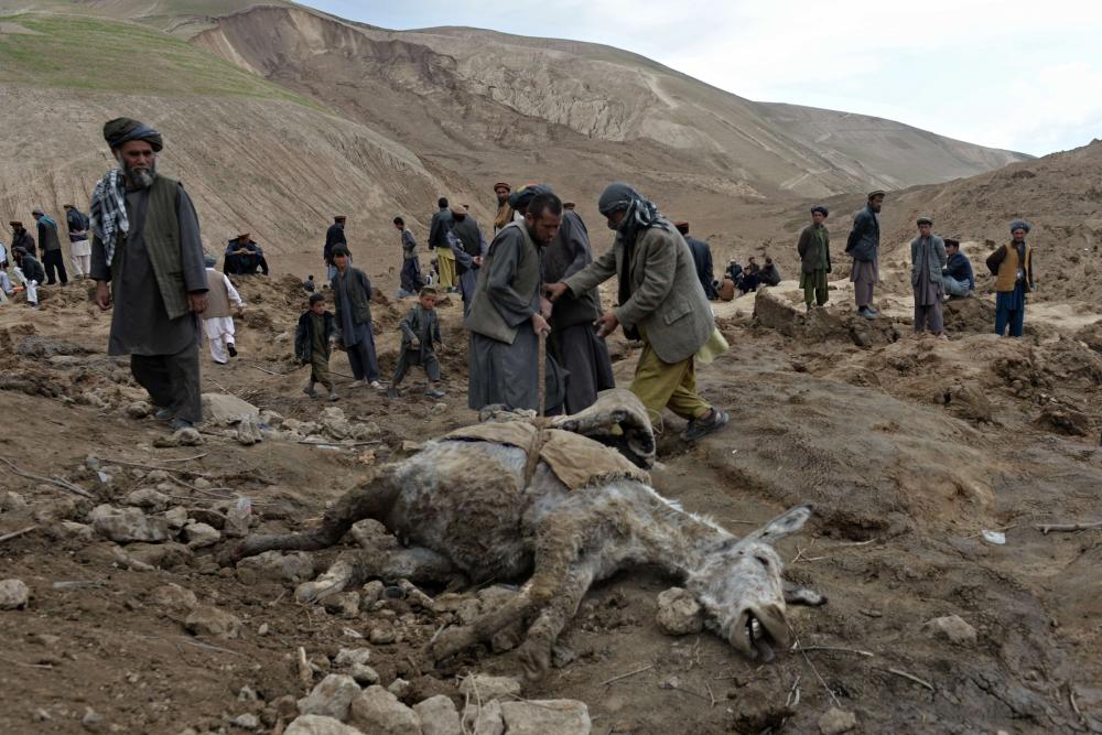 Afganistan'da heyelan faciası 5